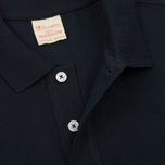 Мужское поло Champion Reverse Weave Logo Left Sleeve Navy фото- 2