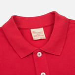 Мужское поло Champion Reverse Weave Logo Left Sleeve Red фото- 1
