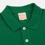 Мужское поло Champion Reverse Weave Logo Left Sleeve Verdent Green фото- 1