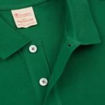 Мужское поло Champion Reverse Weave Logo Left Sleeve Verdent Green фото- 2