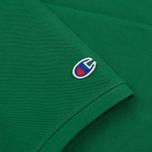 Мужское поло Champion Reverse Weave Logo Left Sleeve Verdent Green фото- 3