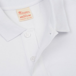 Мужское поло Champion Reverse Weave Logo Left Sleeve White фото- 2