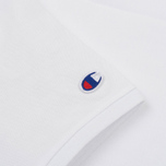 Мужское поло Champion Reverse Weave Logo Left Sleeve White фото- 3
