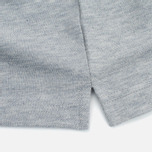 Мужское поло Edwin Classic Cotton Grey Marl фото- 3