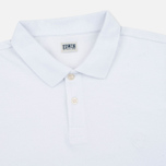 Edwin Classic Cotton Men's Polo White photo- 1