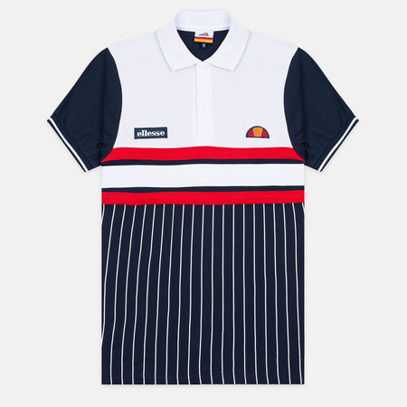 Мужское поло Ellesse Lorenzi Dress Blues/Optic White