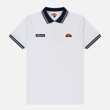 Мужское поло Ellesse Motti Optic White