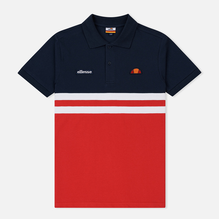 Мужское поло Ellesse Timini True Red/Dress Blues