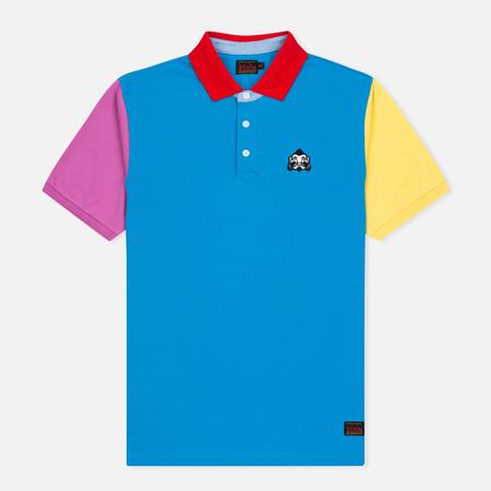 Evisu Godhead Men's Polo Multi Color