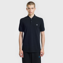 Мужское поло Fred Perry Authentic Embroidered Laurel Black фото- 2