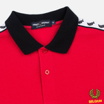 Мужское поло Fred Perry Belgium Country Red фото- 1
