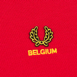 Мужское поло Fred Perry Belgium Country Red фото- 2