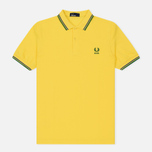 Мужское поло Fred Perry Brasil Country 2018 Vibrant Yellow фото- 0