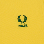 Мужское поло Fred Perry Brasil Country 2018 Vibrant Yellow фото- 2