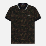 Мужское поло Fred Perry Camouflage Pique Twill фото- 0