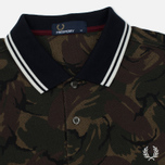 Мужское поло Fred Perry Camouflage Pique Twill фото- 1