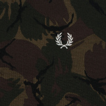 Мужское поло Fred Perry Camouflage Pique Twill фото- 2