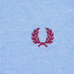Мужское поло Fred Perry Colour Block Pique Light Smoke фото- 2