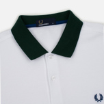Мужское поло Fred Perry Colour Block Pique White фото- 1