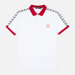 Fred Perry Men's Polo England Country White photo- 0