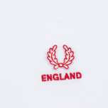 Fred Perry Men's Polo England Country White photo- 2