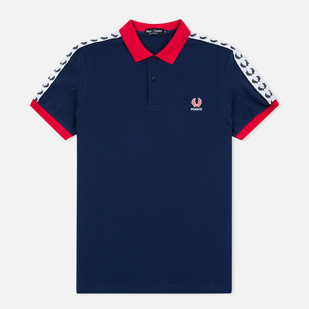 Fred Perry Men's Polo France Country Navy