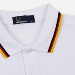 Мужское поло Fred Perry Germany Country 2018 White фото- 1
