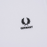 Мужское поло Fred Perry Germany Country 2018 White фото- 2