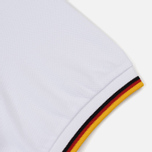 Мужское поло Fred Perry Germany Country 2018 White фото- 3