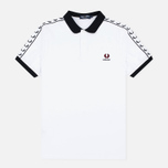 Fred Perry Men's Polo Germany Country White photo- 0