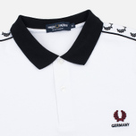 Fred Perry Men's Polo Germany Country White photo- 1