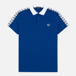 Fred Perry Men's Polo Italy Country Cobalt photo- 0
