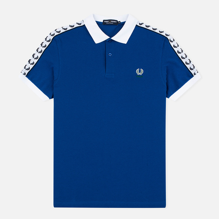 Fred Perry Men's Polo Italy Country Cobalt