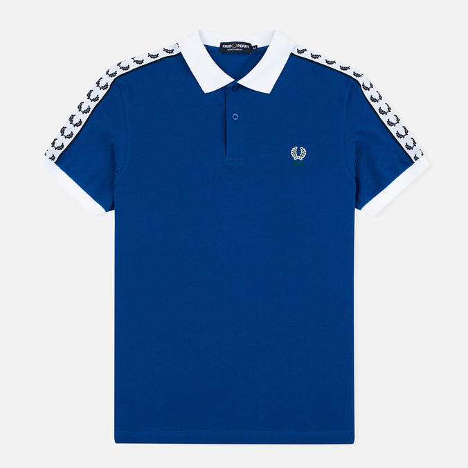Мужское поло Fred Perry Italy Country Cobalt