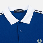 Fred Perry Men's Polo Italy Country Cobalt photo- 1