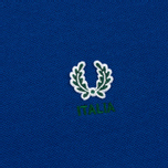 Fred Perry Men's Polo Italy Country Cobalt photo- 2