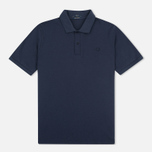 Мужское поло Fred Perry M12 Twin Tipped Navy фото- 0