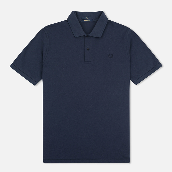 Мужское поло Fred Perry M12 Navy/Navy/Navy