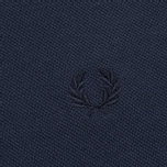 Мужское поло Fred Perry M12 Twin Tipped Navy фото- 2