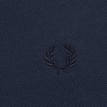 Мужское поло Fred Perry M12 Navy/Navy/Navy фото- 2