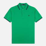 Мужское поло Fred Perry M1200 Island Green фото- 0