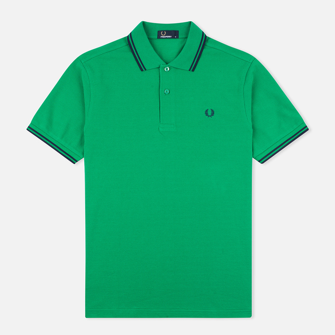 Мужское поло Fred Perry M1200 Island Green