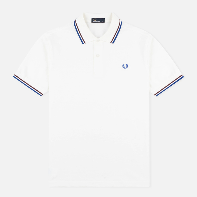 Мужское поло Fred Perry M1200 Snow White