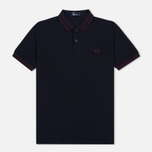 Мужское поло Fred Perry M1500 Navy фото- 0