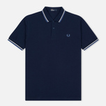 Мужское поло Fred Perry M3600 Navy/Deep Blue фото- 0