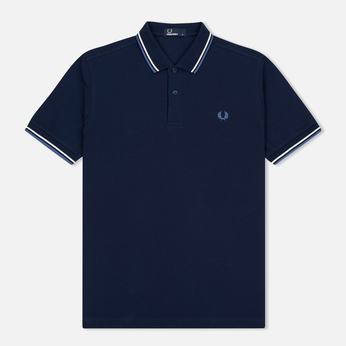 Мужское поло Fred Perry M3600 Navy/Deep Blue