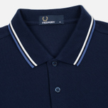 Мужское поло Fred Perry M3600 Navy/Deep Blue фото- 1