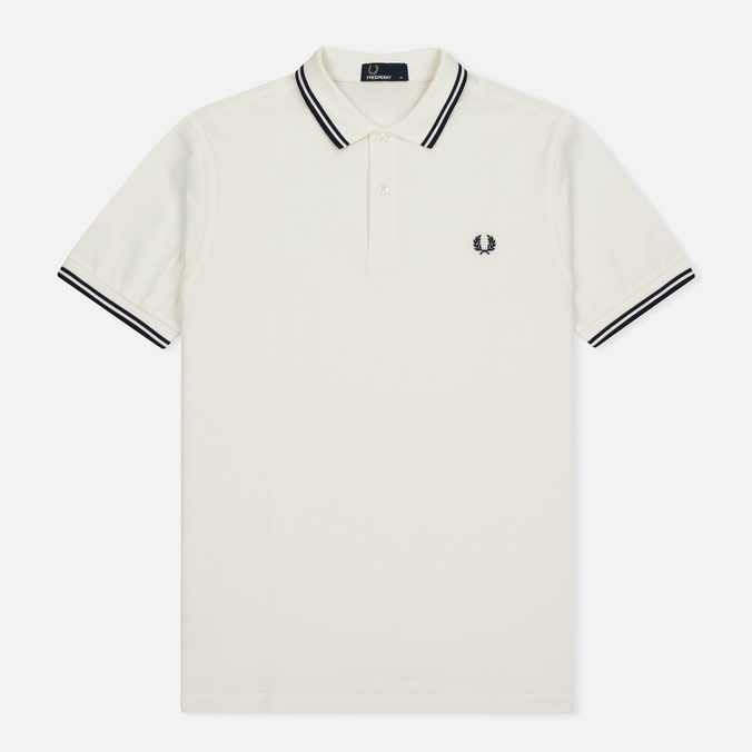 Мужское поло Fred Perry M3600 Snow White