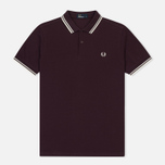 Мужское поло Fred Perry M3600 Twin Tipped Bramble/Snow White/Ecru фото- 0