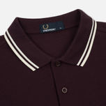 Мужское поло Fred Perry M3600 Twin Tipped Bramble/Snow White/Ecru фото- 1